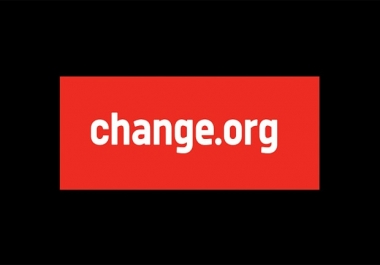 write and publish a HQ guest post on change.org