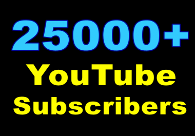 Wonderful Quick 5000+ Awfully High-Quality Non-Drop YouTube Subscribers