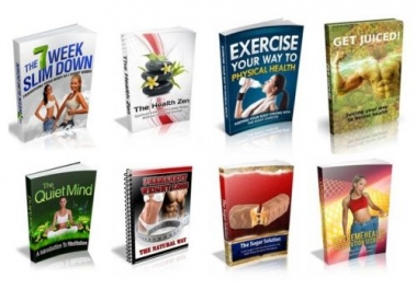100  Fitness & Health eBooks