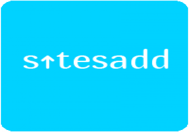 SitesAdd Will Give High Quality Backlinks Which Will Boost Your Site