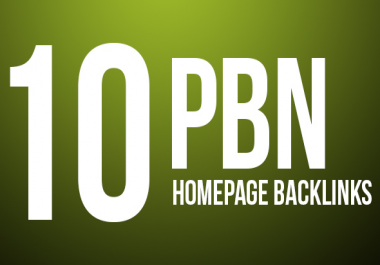 10 PBN HomePage Link With Power Boosting Tier 2