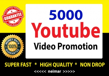 YouTube Video Marketing social Media Promotion Super Fast Delivery