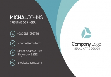 Make Stylish And Professional Business Card super fast