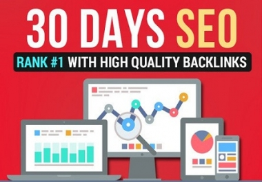I do 30 Days SEO Service Daily Whitehat Backlinks Package