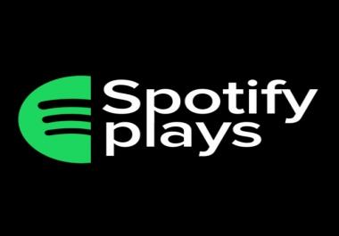 200.000 Spotify Premium Plays