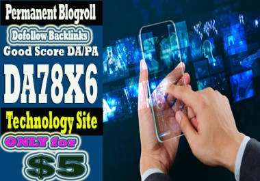 link da78x6 sites technology blogroll permanent