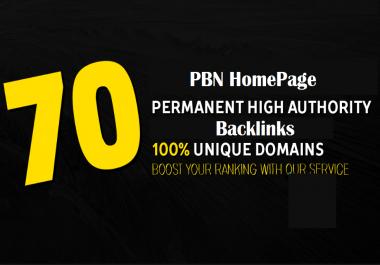 70 Pbn Homepage Do Follow Backlinks