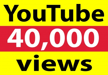 USA 40,000+ YT views High Retention & non drop within 48-72 hrs