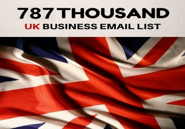 UK Business Database 787K With Email List and Phone Numbers