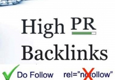 Create 100% Manually 500 PR10 High Authority Backlinks-White Hat