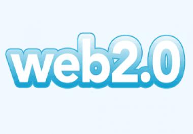 Create 10 web 2.0 mini blog in high PR