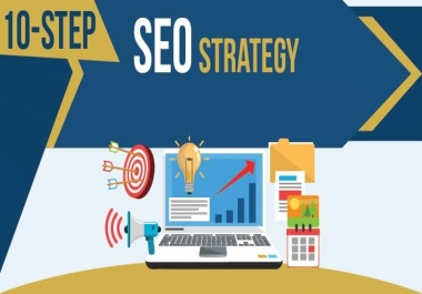10 Step PERFECT SEO Backlinks Service For Boost Google 1st page ranking