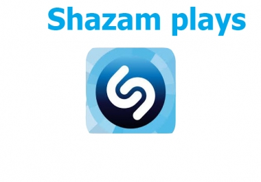 Buy 5000+ USA Shazam Plays or 1000+Shazam Followers instant start