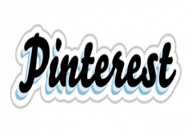 Real and non drop 600 pinterest / T-witter followers