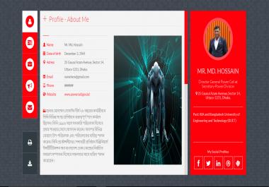 Design A Portfolio  Landing Page