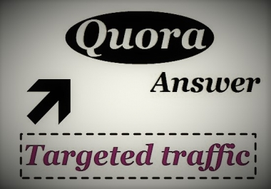 Provide you 25 HQ Quora answer backlinks