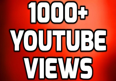 Add Fast 1000+ HIGH QUALITY Views NON DROP