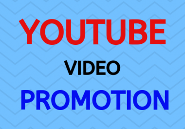 Real and permanent YouTube promotion pack social media marketing fast delivery