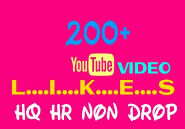 Add 200+ Worldwide, HQ, HR, Non Drop Youtube Service Instantly
