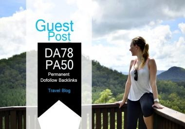 Do Guest Post In Da78 HQ Travel Blog