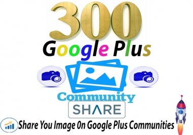 Share You Image On Google Plus Communities
