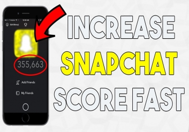 Boost your Snapchat Score
