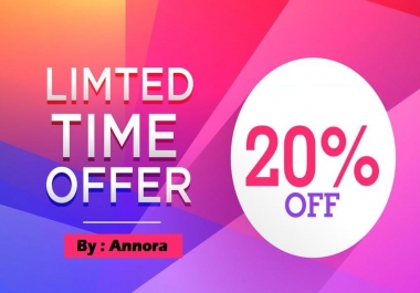 Social Signals Custom OFFER 20% Discount for new users