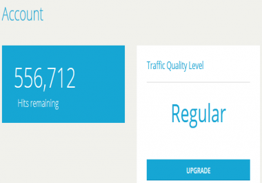 Traffic accounts available now