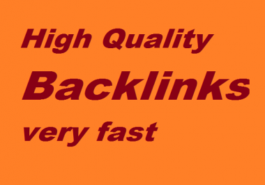100 High Quality Backlinks  Manually Created