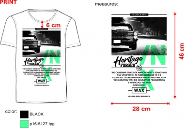 if your need awsome 5 t-shirt design.