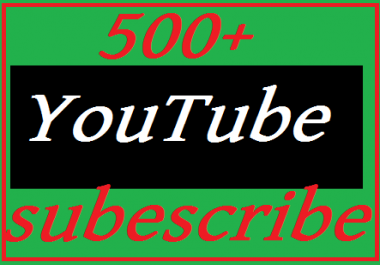 New offer 500 YouTube subscribers 10 custom comments bonus  fast delivery