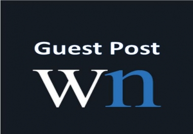 Write and Publish Guest Post On World News