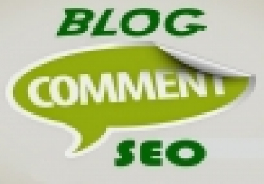 High Quality Do-Follow 20 Blog comment back-links