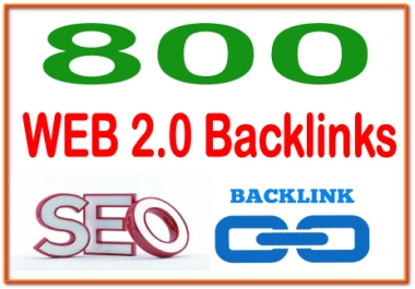 Boost Site Alexa Rank with 800 Web 2.0  Backlinks