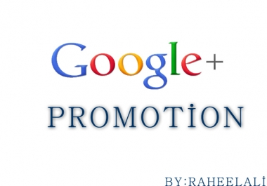 promote your website to 20,000,000 google plus active members