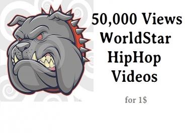 50,000 views worldstarhiphop wshh world star hip hop