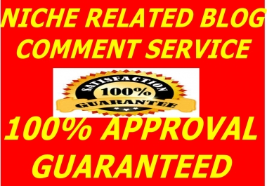 GET HIGH QUALITY NICHE RELATED 10 BLOG COMMENT