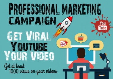 Boost your video with professional YouTube Video Marketing