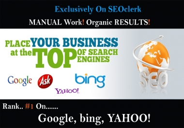 Rank #1 On Google With 1500 Top Quality Manual White-Hat SEO Backlink