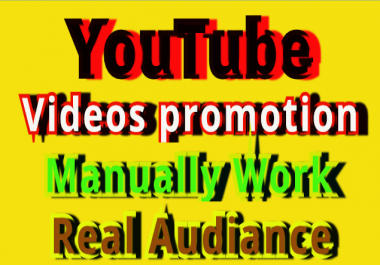 Real Manually High Quality  Video L Promotion