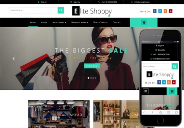 Make A Html Css Template For You At 5 Dollar