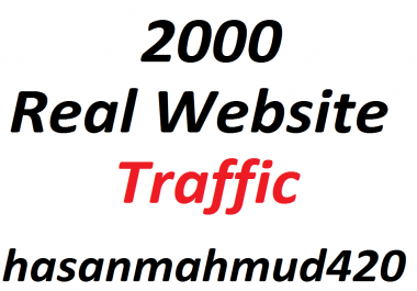 200 Real Website Traffic Instant Start