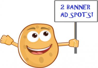 2 Banner Ad Spots On 40000 Member GPT Reward Site