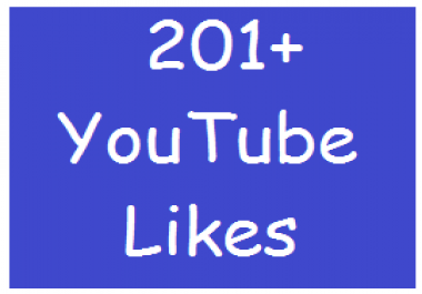 Start Instant 201+ YouTube Video Likes Very fast delivery