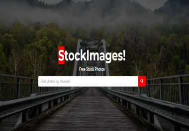 Installink a Pixabay.com Clone or photo stock website for you