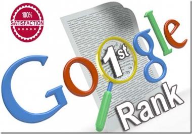Guaranteed Rank on Google 1st page