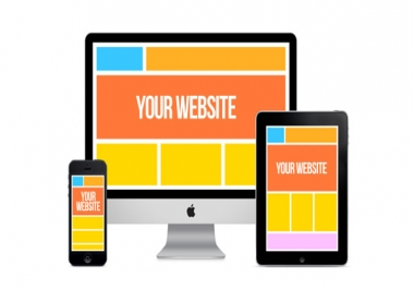 Create an Amazing Responsive website in 1-2 days [SEO included]