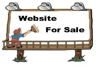Domain + Website on sale