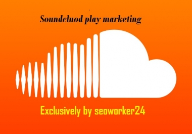 Instant will add 1000 REAL SOUNDCLOUD Plays to your song OR Profile