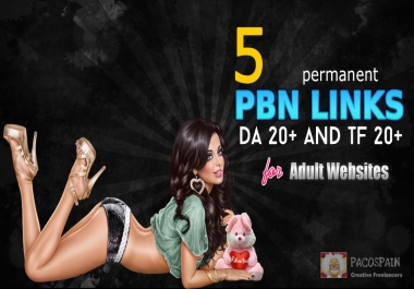 5 permanent PBN links for your ANY site